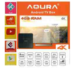 Slika izdelka: 4K ANDROID 8.1 TV BOX AQURA 4GB RAM, 32 GB, QUAD CORE, WIFI