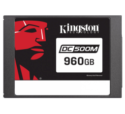 Slika izdelka: KINGSTON Data Center DC500 Enterprise (Mixed-Use) 960GB 2,5'' SATA3 NAND 3D TLC (SEDC500M/960G) SSD